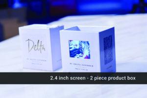 2.4 inch video presentation cube