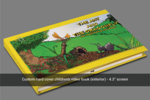 Case bound multi page video book front image
