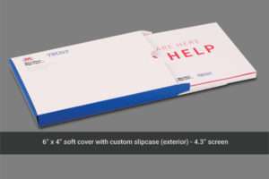 Soft cover video mailer with shipper box