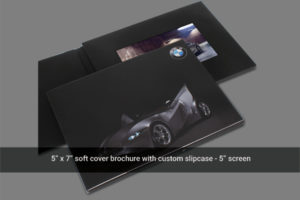5 inch LCD screen video mailer with sleeve