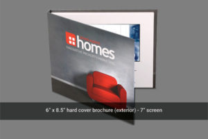 7 inch video mailer front cover image.