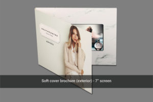 Cover image for soft cover 7 inch video brochure