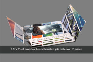 7 inch gate fold video mailer