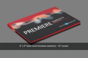 Flip open 10 inch video mailer cover