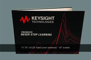 Exterior A4 video mailer Keysight Technologies